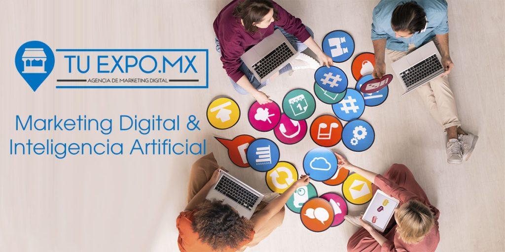 Tuexpo y el marketing digital guiado por la Inteligencia Artificial